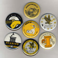 Homecoming badges, 1980s