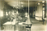 State Historical Society of Iowa Library in Schaeffer Hall lobby, The University of Iowa, March 4, 1910