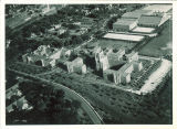 Aerial view of General Hospital, the University of Iowa, 1960s?