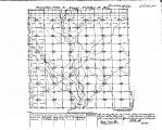 Iowa land survey map of t094n, r013w