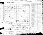 Iowa land survey map of t086n, r046w