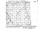 Iowa land survey map of t073n, r021w