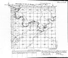 Iowa land survey map of t098n, r008w