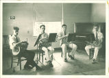 All-State french horn quartet, The University of Iowa, 1933