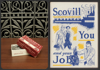 Scovill Pins and Advertisement