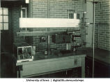 Equipment in physiology laboratory, The University of Iowa, 1940s