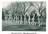 Tennis practice, The University of Iowa, 1930s