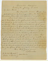 46. Lincoln to Caleb Russell and Sallie Fenton on their support for Emancipation Proclamation