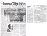 Iowa City Press Citizen clippings, 1997