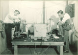 Students in Physics laboratory, The University of Iowa, 1930s