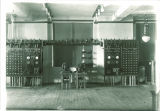 Equipment in Electrical Engineering Dept. in East Hall Annex, The University of Iowa, 1920s?