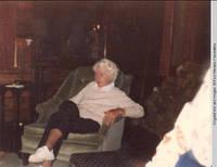 Elizabeth Burden sitting