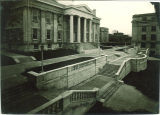 Terrace and west facade of Old Capitol, the University of Iowa, 1927