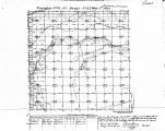 Iowa land survey map of t071n, r023w