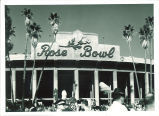 University of Iowa Marching Band at Rose Bowl, Pasadena, Calif., 1959