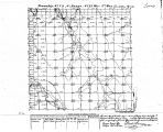 Iowa land survey map of t072n, r021w