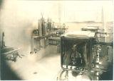 Sterilization room at Trowbridge Hall, The University of Iowa, 1917