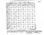 Iowa land survey map of t071n, r033w