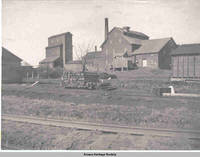 Flour mill and grain elevator complex, Amana, Iowa, 1900s