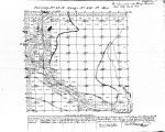 Iowa land survey map of t075n, r004w