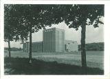 Southwest exterior of Theatre Building, The University of Iowa, 1940s