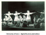 Theatrical performance in Ulan-Ude, Siberia, 1944