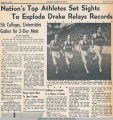 Drake Times-Delphic, 1942, Nation's Top Athletes Set Sights