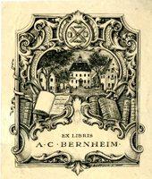 A.C. Bernheim Bookplate