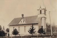 St. Peter Lutheran Church in Garnavillo, Iowa -pre 1937