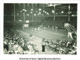 Iowa playing basketball against Illinois in the Armory, The University of Iowa, February 12, 1927