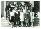 School of Library Science graduates and faculty, The University of Iowa, June 1968