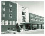 South entrance to Iowa Memorial Union, the University of Iowa, 1970s