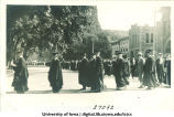 Commencement procession, The University of Iowa, 1910s