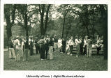 Social picnic, The University of Iowa, 1930s