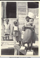 Carmen with family in Tobago