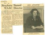 Strayhorn named WAAC director