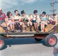Oktoberfest Parade, Middle Amana, Iowa, 1974