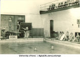 Diving practice, The University of Iowa, 1932