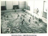 Swimmers, The University of Iowa, 1930s