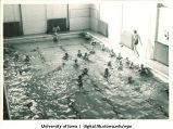 Swimmers, The University of Iowa, 1930s