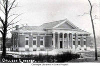 Parsons College Library, Fairfield, Iowa