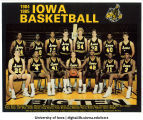 1984-1985 Iowa basketball team, The University of Iowa, 1984