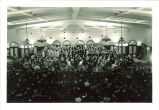 Orchestra concert with choir and soloists in Iowa Memorial Union, The University of Iowa, 1930s