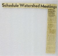 Monroe County Soil and Water Conservation Newspaper Articles, 1994-2009