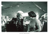 Mary Louise Smith and Muffet Brock at the Republican National Convention, Detroit, Mich., 1980