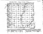 Iowa land survey map of t069n, r035w