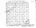 Iowa land survey map of t072n, r032w