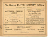 Plat book of Floyd County, Iowa