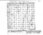 Iowa land survey map of t070n, r038w