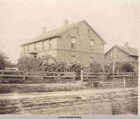 Brick residence, Amana, Iowa, 1900s